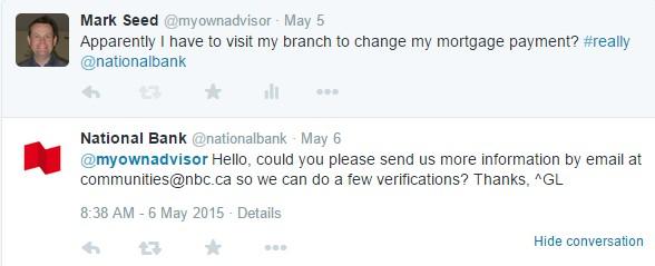 Twitter National Bank