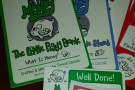 A kid's guide to financial literacy – M is for Money giveaway