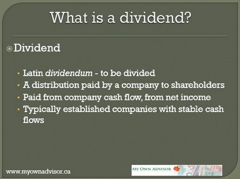 Too much income from dividends