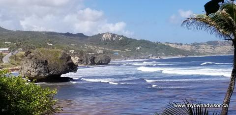 Bathsheba Beach Barbados 2019