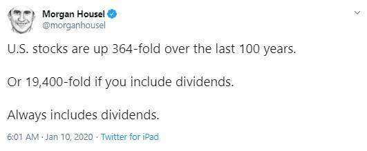 Dividends Matter January 2020