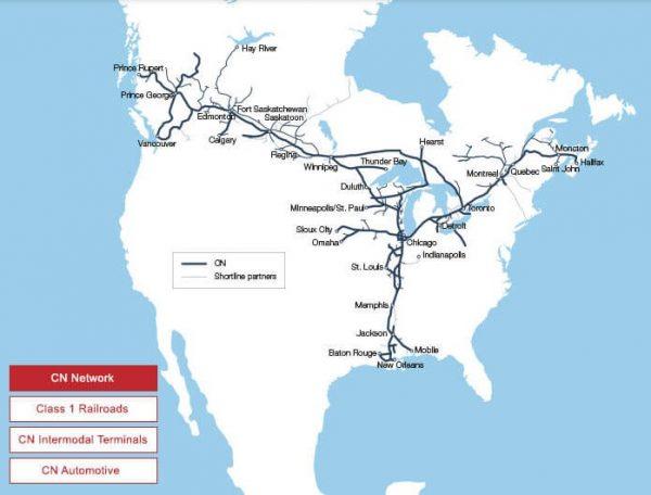 CNR map