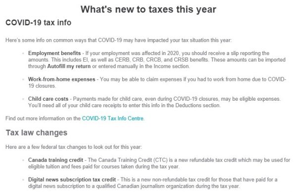 TurboTax - What's New